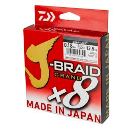 Pintas valas Daiwa J-Braid Grand x8 Light Grey