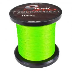 Pintas valas Daiwa Tournament 8 Braid EVO Chartreuse 1000m